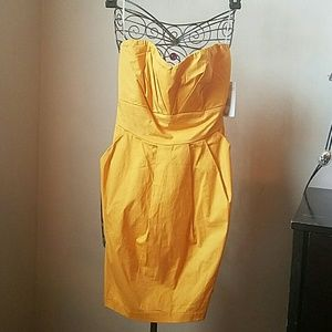 Trusting strapless dress size 9